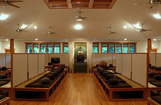 Meditation Hall at Chapin Mill Retreat Center