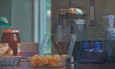 Breakfast with Golden Raspberries, by Dave Dorsey